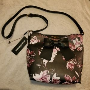 *Final Price* Karl Lagerfeld Floral Purse